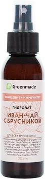 Гидролат ИВАН-ЧАЙ с БРУСНИКОЙ Greenmade