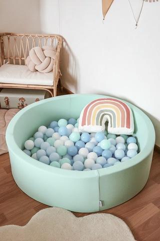 Сухой бассейн Anlipool 100/30см мятный комплект №69 Mint freshness