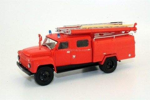 GAZ-53A AC-30(53A)-106A fire engine 1:43 DeAgostini Auto Legends USSR Trucks #8