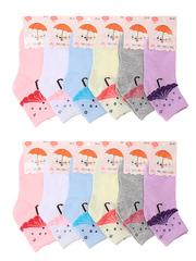 C274 носки подростковые (12шт.), цветные