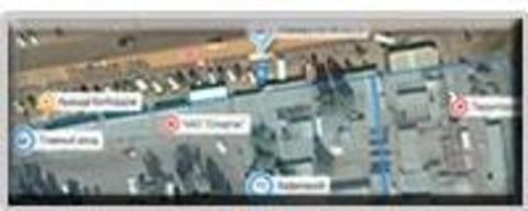 Общий план Николаевского Авторынка на Троицкой (Кирова)