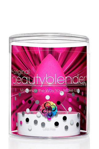 Beautyblender Спонж розовый + твердое мыло Beautyblender Original + Blendercleanser Solid