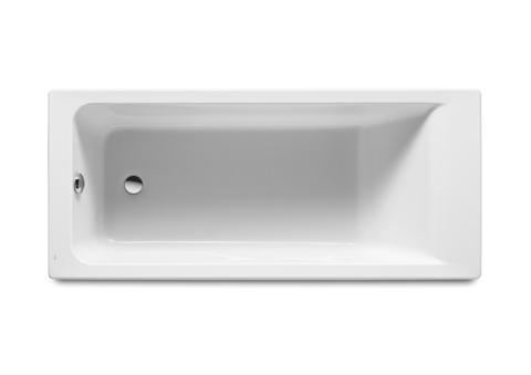 Ванна акриловая Roca Easy 1700х750х450, прямоугольная, с монтажным комплектом