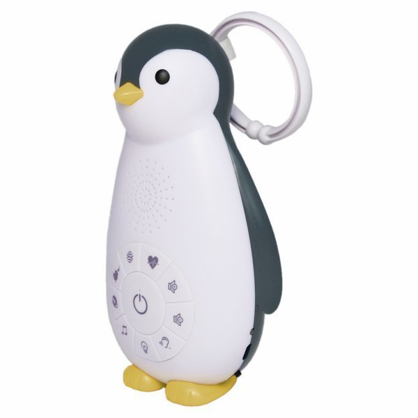 Беспроводная колонка+проигрыватель+ночник пингвинёнок Зои 0+ Розовый