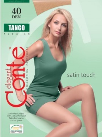 Conte Tango Колготки женские 40d, p.2 grafit