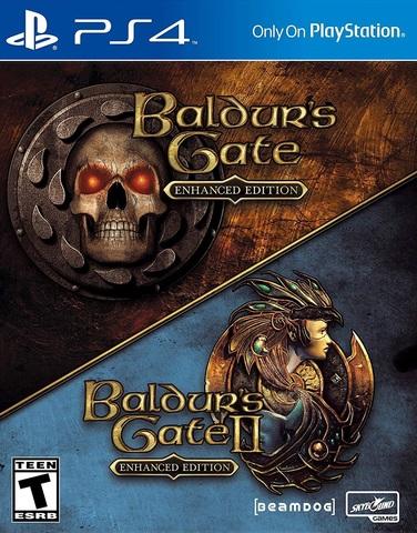 PS4 Baldur's Gate: Enhanced Edition (русская версия)