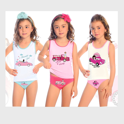 Комплект хлопок девочке (1-8) 200306-ОТ8586