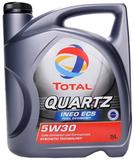 Total Quartz Ineo ECS 5W-30 - Синтетическое моторное масло (4л)