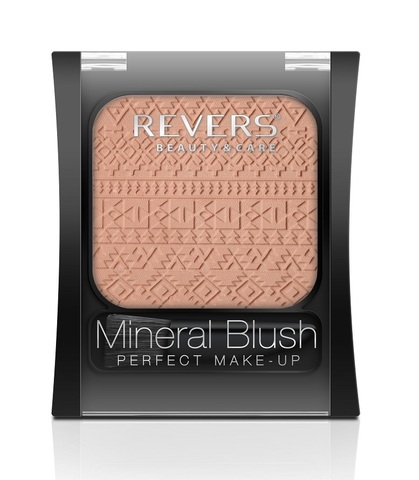 REVERS Румяна 7,5г MINERAL BLUSH Perfect make-up №01 (*3)