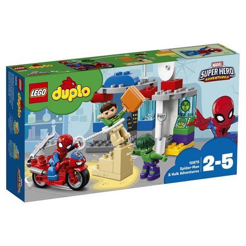 LEGO Duplo: Приключения Человека-паука и Халка 10876 — Spider-Man & Hulk Adventures — Лего Дупло