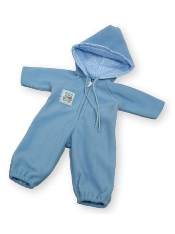 Комбинезон - Голубой. Одежда для кукол, пупсов и мягких игрушек.
