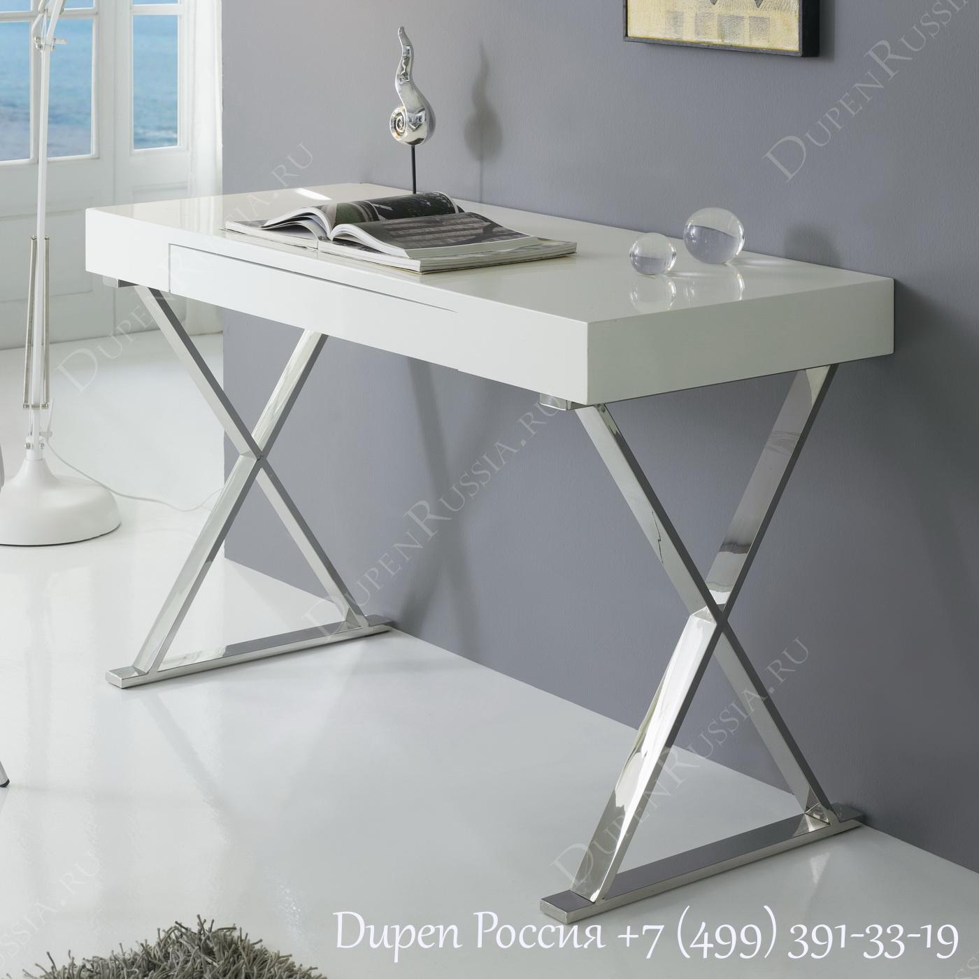 Компьютерный стол ESF KS2608 Белый