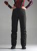 Премиальные теплые зимние брюки Nordski Mount Black женские с высокой спинкой