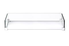 Ветрозащитный экран для прямоугольного стола-камина