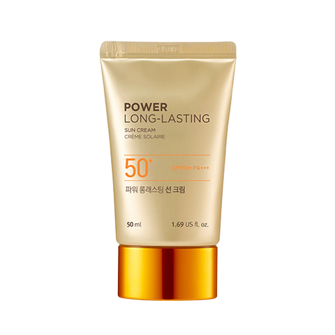 Солнцезащитное средство THE FACE SHOP Power Long-Lasting Sun Cream SPF50+ PA+++ 50ml