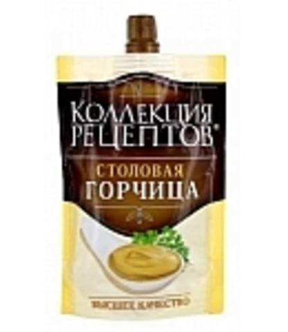 """Горчица """"Коллекция Рецептов"""" Столовая 140 г"""