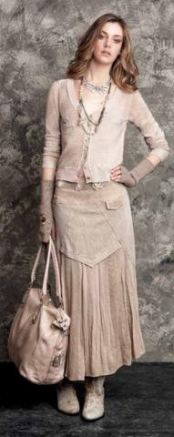 Длинная юбка Elisa Cavaletti ELW143089245