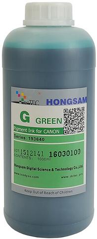 Чернила DCTec iPF6400/iPF8400 Green (G) 1000мл пигмент (серия 193640)