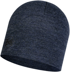Шерстяная шапка Buff Hat Wool Midweight Night Blue Melange