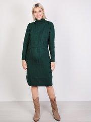 Евромама. Платье вязаное для беременных и кормящих, изумруд