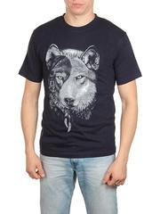 18710-3 футболка мужская, темно-синяя