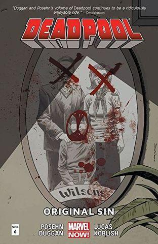 Deadpool Original Sin с автографом Джерри Даггана