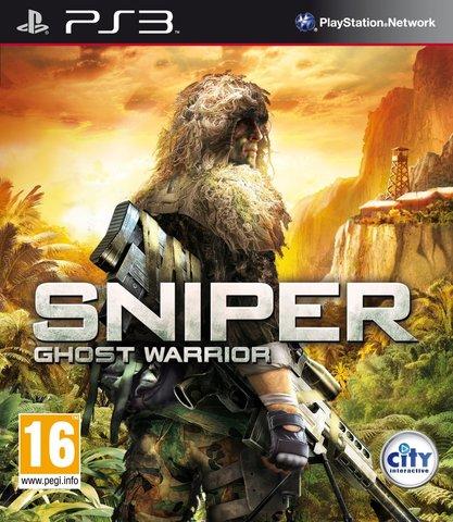 PS3 Sniper: Ghost Warrior (английская версия)