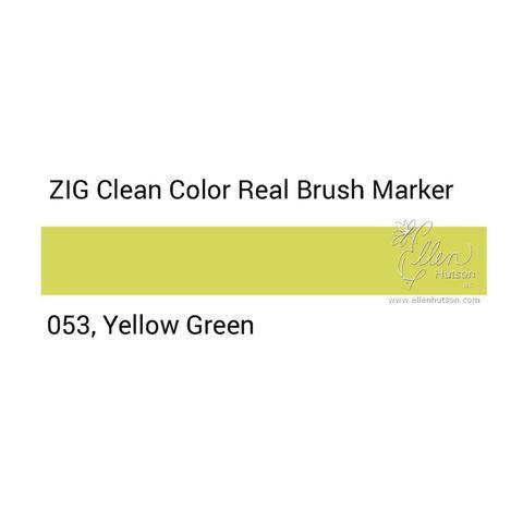 Маркер акварельный ZIG Clean Color Real Brush- штучно - 053