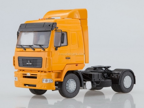 MAZ-5440 semi-trailer tractor (restyling) orange 1:43 AutoHistory