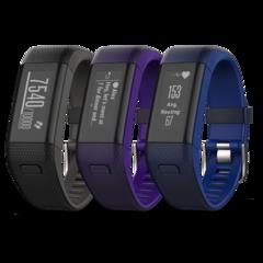Часы с GPS навигатором Garmin Vivosmart HR+ фиолетовые