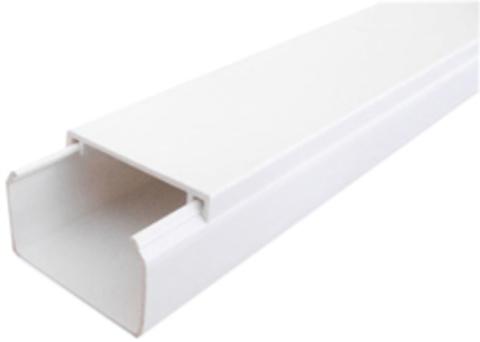 ECO 40Х16 Миниканал 40Х16 мм. 1шт=1м. Цвет Белый. Ecoplast (ЭКОПЛАСТ). 77208