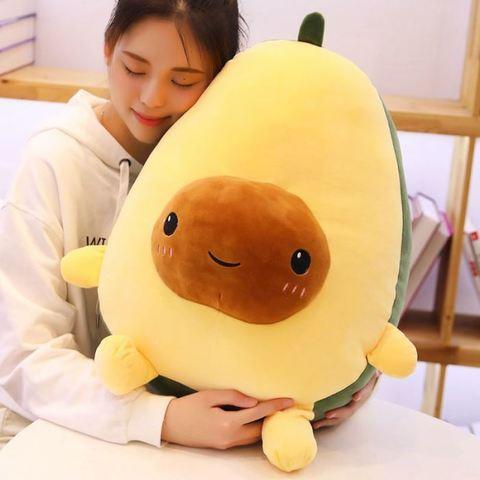 подушка авокадо 60см (с лапками)