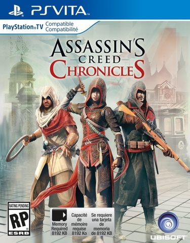 Sony PS Vita Assassin's Creed Chronicles (русские субтитры)