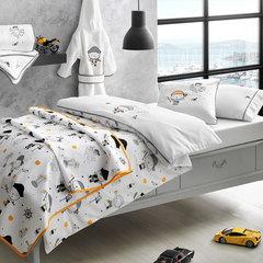 НАБОР Детское постельное белье PIRATES с вышивкой и  пледом ПИКЕ deluxe TIVOLYO HOME Турция