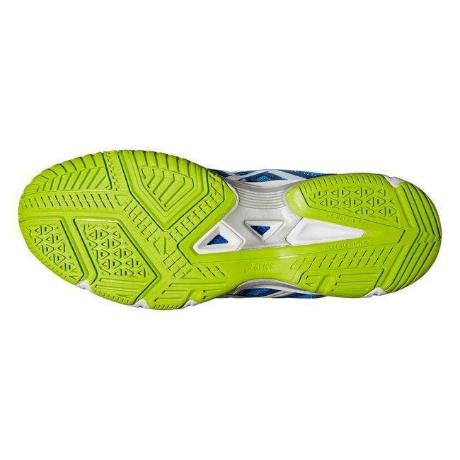 Мужские спортивные волейбольные кроссовки Asics Gel-Beyond 4 MT blue (B403N 3993) мужские снизу