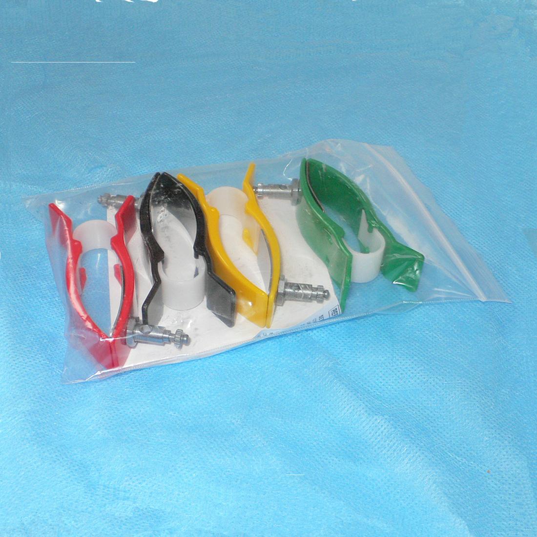 Электроды ЭКГ многоразовые, конечностные, детские, AgCl, с винтом и зажимом, 88 мм