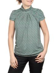A100-13 блузка женская, зеленая