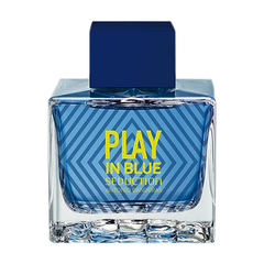 Banderas Play In Blue Seduction For Men