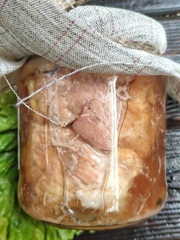 Фотография Тушенка курица 500 г (450 мл) купить в магазине Афлора