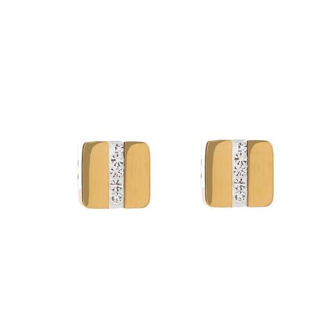 Серьги Coeur de Lion 0325/21-1800 цвет золотой, белый