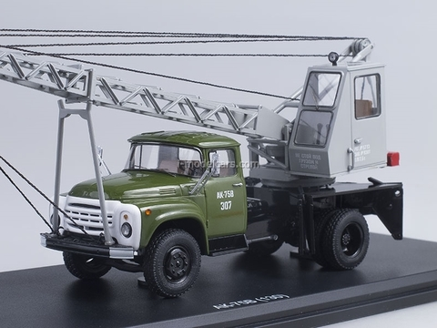 ZIL-130 AK-75V khaki gray 1:43 Start Scale Models (SSM)