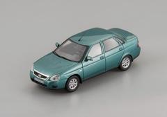1:43 ВАЗ 2170 Седан 2015 (зелено-синий металлик)