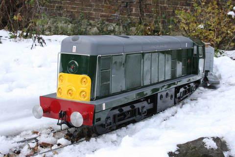 Garden Rail Тепловоз Класс 20 на колею 12,7 см, электрический