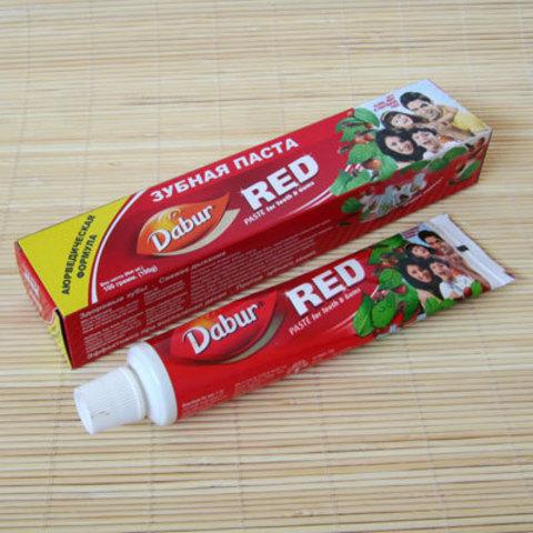Аюрведическая зубная паста Dabur Red, 100 г