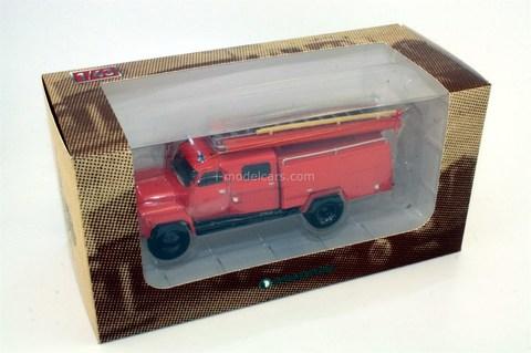 GAZ-53A AC-30(53A)-106A fire engine 1:43 DeAgostini Auto Legends USSR Trucks #8