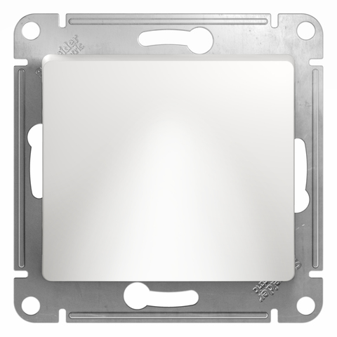 Вывод кабеля. Цвет Белый. Schneider Electric Glossa. GSL000199