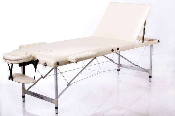 Массажный стол RESTPRO ALU 3 Cream (EU) фото
