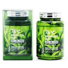 Farmstay Green Tea Seed All-In-One Ampoule - Многофункциональная сыворотка с зеленым чаем