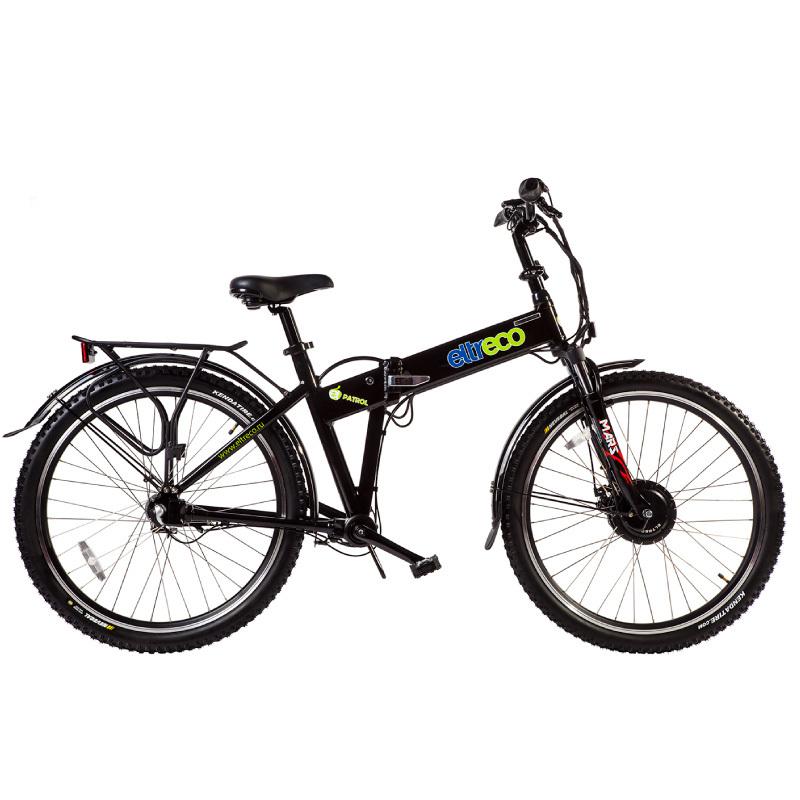 Велогибрид Eltreco PATROL КАРДАН 28 черный - Велогибриды, артикул: 780630