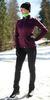 Женский утеплённый лыжный костюм Nordski Motion 2019 Purple/Black